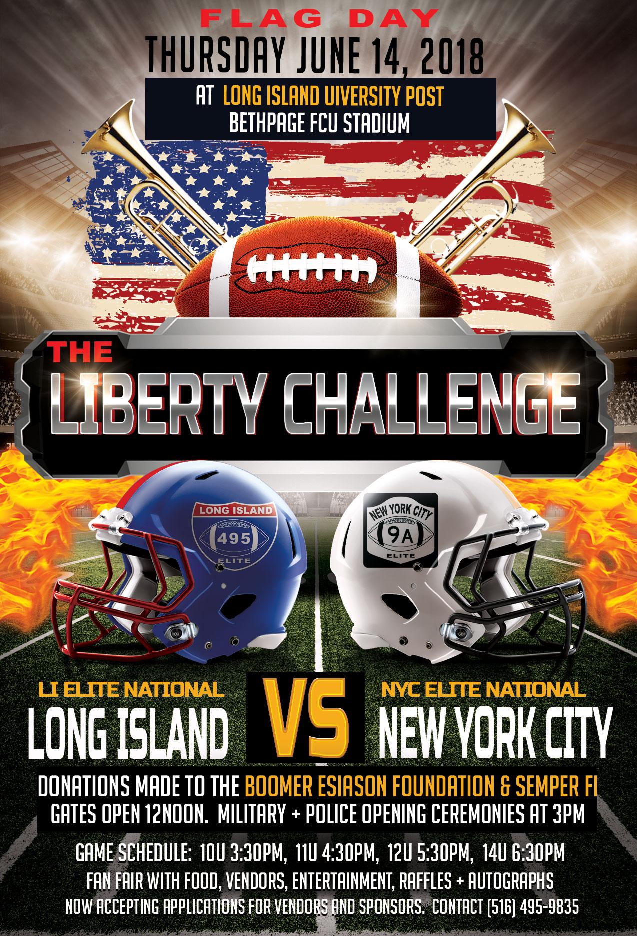 Long Island New York City Football Game